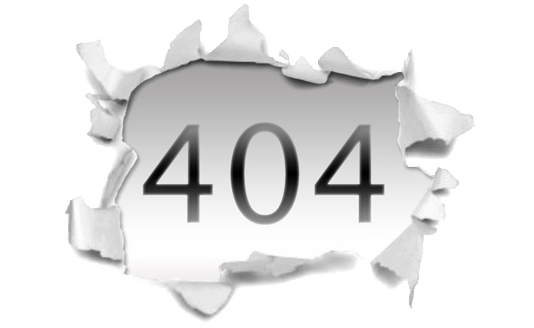 HTTP 404 — File non trovato — File or directory not found